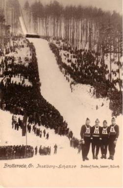 Adolph Baldauf, Hugo Fuchs, Werner Lesser, Manfred Münch