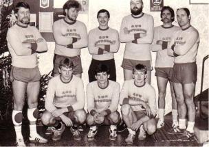 Das Volleyball Team von 1987
